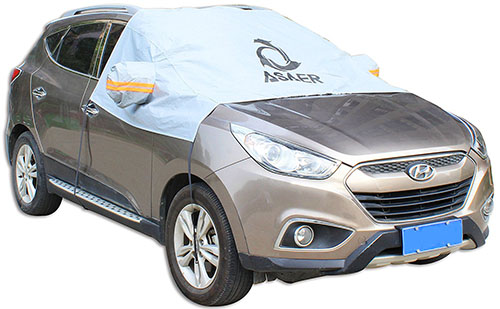 8. ASAER Premium Windshield Car Snow Cover