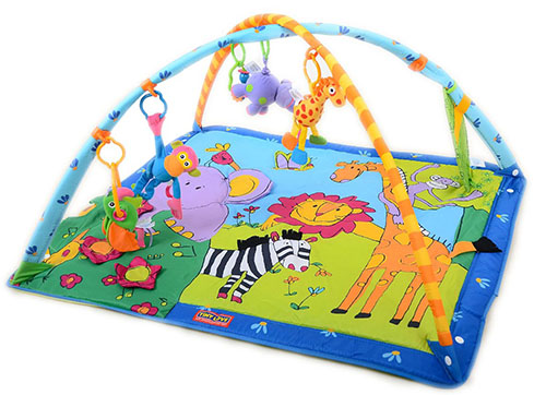 6. Tiny love gymini super deluxe lights and music play mat