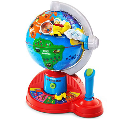 6. VTech Fly and Learn Globe