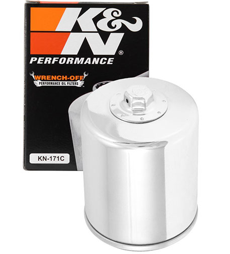 3. K&N KN-171C Harley-Davidson/Buell High-Performance Oil Filter