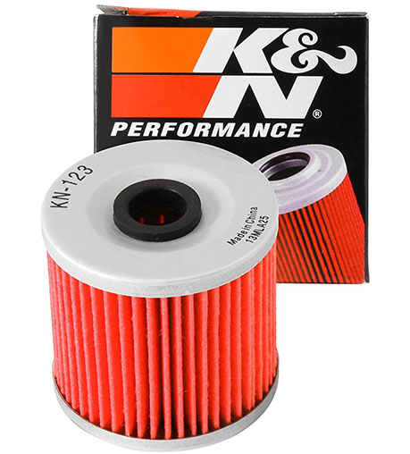 5. K&N KN-123 Kawasaki High-Performance Oil Filter