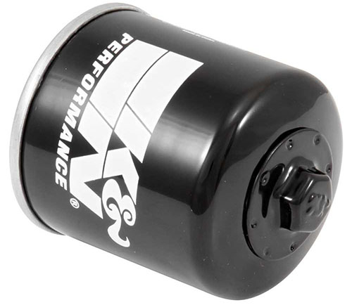1. K&N KN-303 Motorcycle/Powersports High-Performance Oil Filter