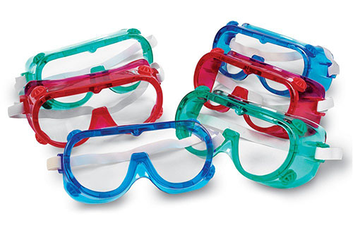 8. Learning Resources Colored Safety Goggles