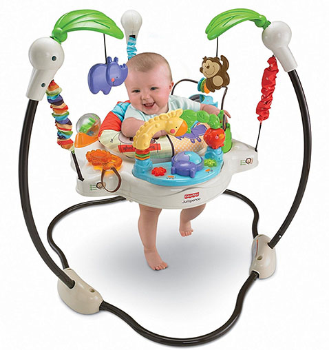 2. fisher-price Luv U zoo jumperoo