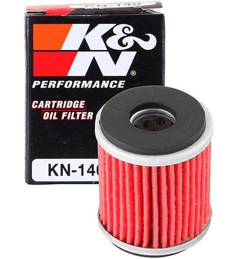 7. K&N KN-140 Yamaha High-Performance Oil Filter
