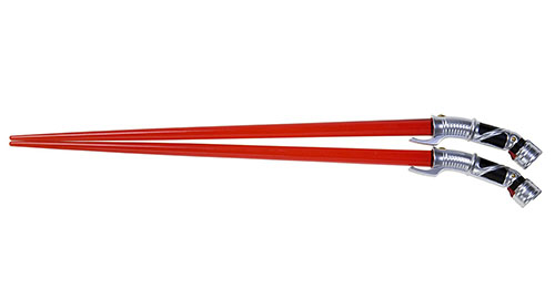 7. Star Wars Light saber Count Dooku Chopsticks