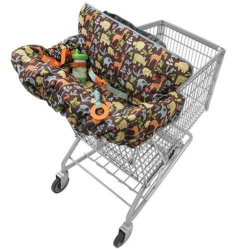 3. Infantino Compact 2-in-1 Shopping Cart Cover