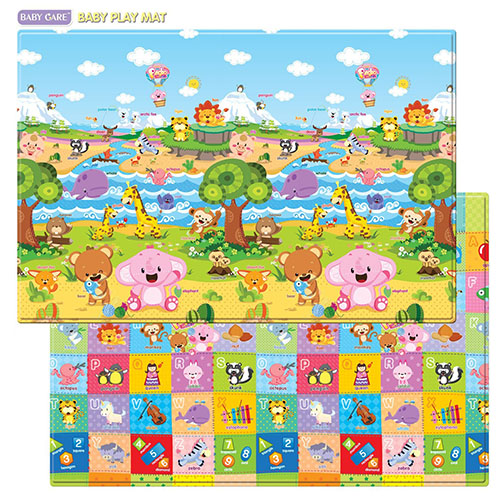9. Baby care play mat foam floor gym
