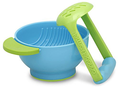 1. NUK mash and serve bowl for making homemade baby food