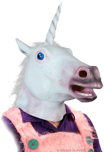 3. Accoutrements Magical Unicorn Mask