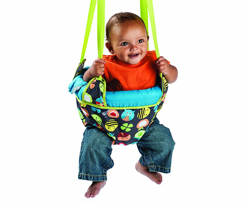 1. Evenflo exersaucer door jumper bumbly