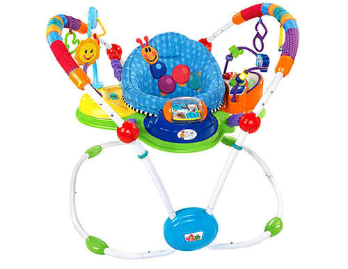 9. Baby Einstein musical motion activity jumper