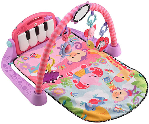 1. fisher-price kick and play piano, gym