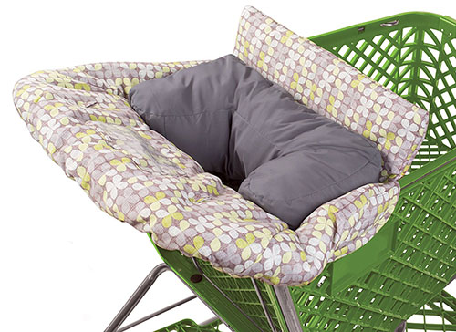 1. Summer Infant 2-in-1 cushy cart cover and seat positioner