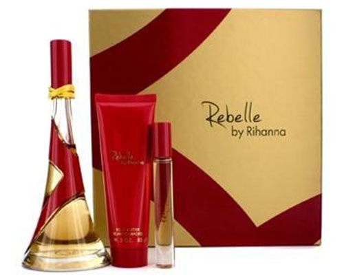 7. Rihanna Rebelle for Women 3 Piece Gift Set