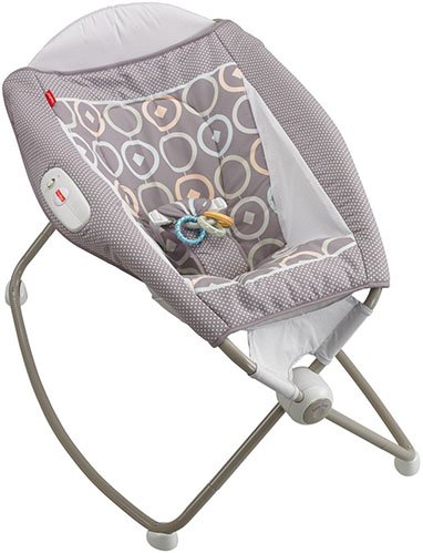 9. fisher-price newborn rock 'n' play sleeper luminosity