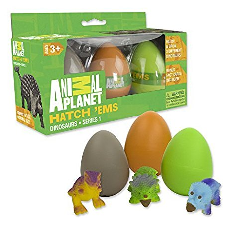4. Animal Planet Grow Eggs- Dinosaur