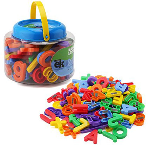 5. ABC Magnets - 109 Magnetic Alphabet Letters & Numbers
