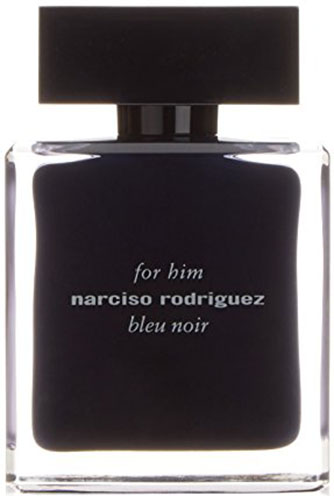 6. Narciso Rodriguez Him Bleu Noir Eau de Toilette Spray for Men,