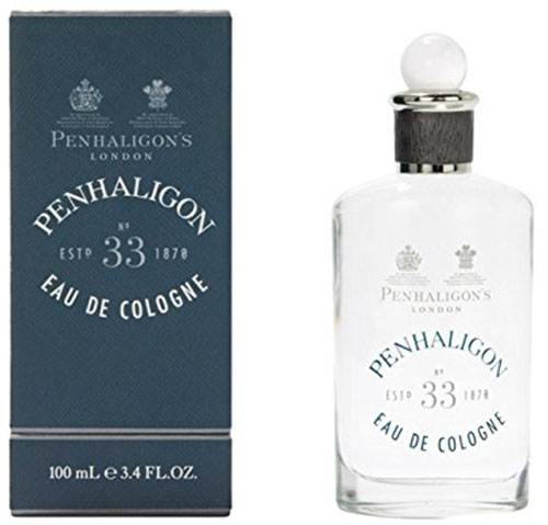 10. Penhaligon's No.33 Men's Spray Cologne