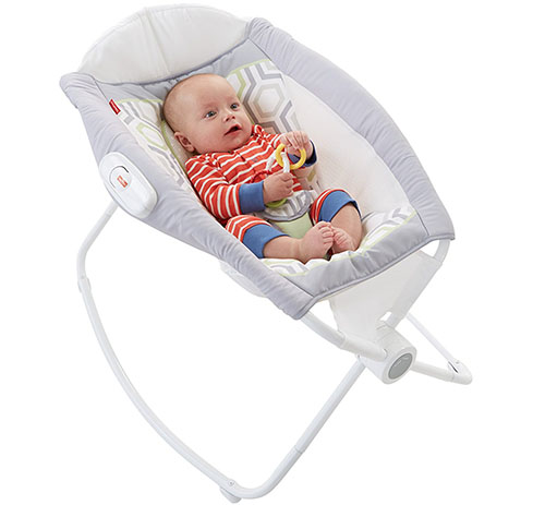 5. fisher-price newborn rock 'n play sleeper geo meadow