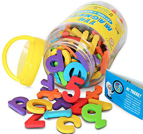 3. Magnetic Letters and Numbers by Curious Columbus