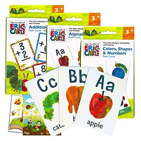 9. World of Eric Carle Flash Cards