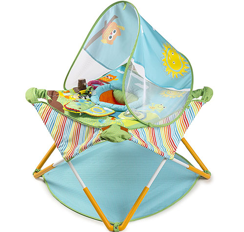 10. Summer Infant Pop 'N' jump portable activity center