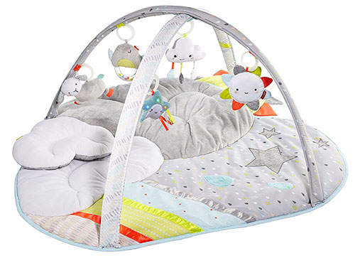 5. Skip Hop Baby infant and toddler silver lining cloud