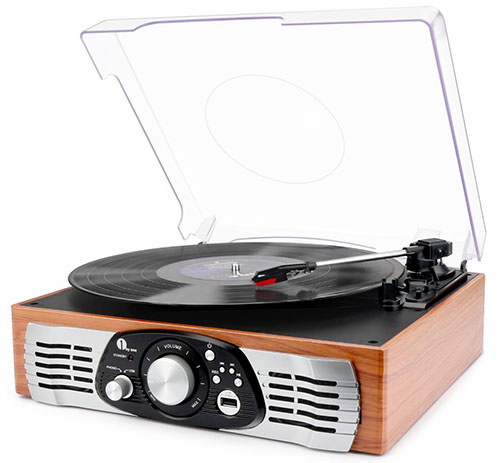 3. 1byone Belt-Drive Turntable