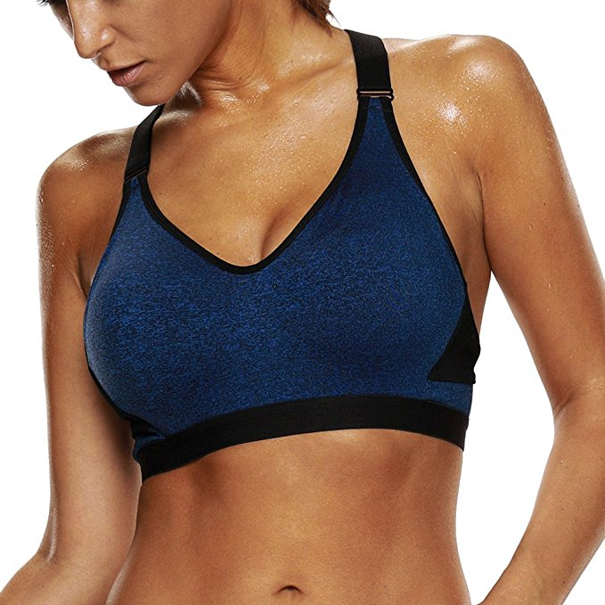 5. ATTRACO Women's High Support Sports Bra
