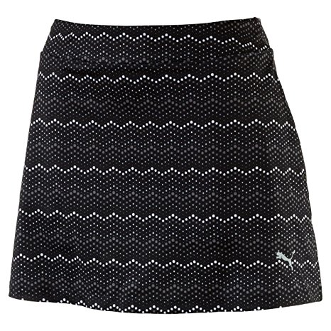 3. Puma Golf Womens W Zig Zag Knit Skirt