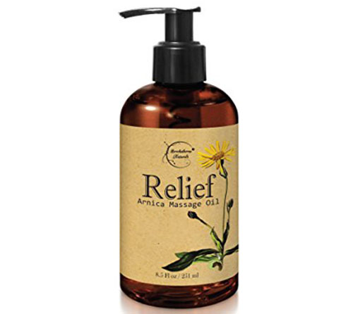 1. Relief Arnica Massage Oil