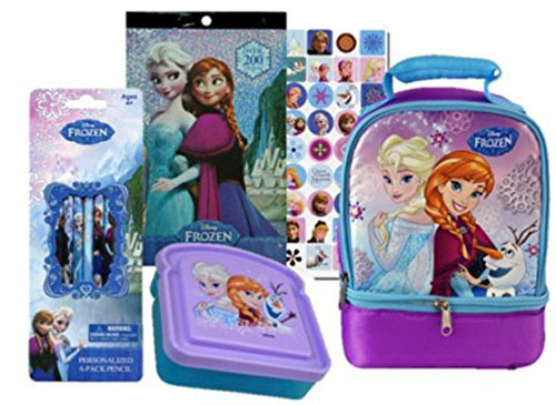 10. Disney's Lunch Bag and Sticker Combination Set
