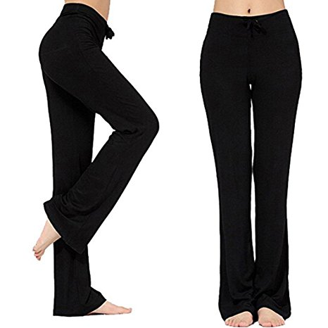 6. Women's Long Modal Comfy Drawstring Trousers