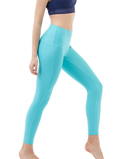 1. Tesla Women's Yoga Pants High-Waist Tummy Control
