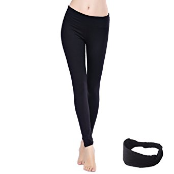10. Women's Yoga Pants Workout Stretchy Sports Leggings
