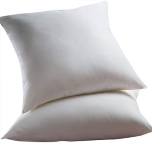 6. Euro Pillow, with zippered protectors