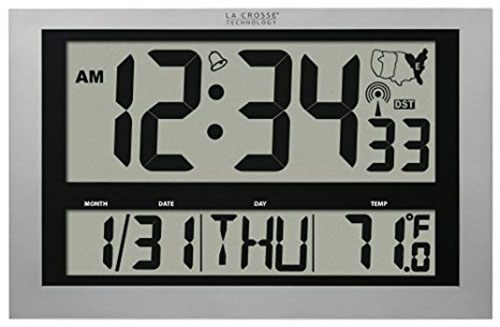 10. La Crosse Technology 513-1211 Atomic Wall Clock