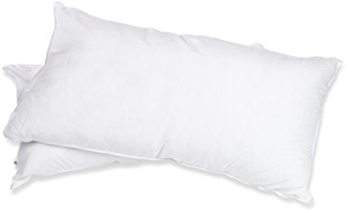 5. Superior White Down Alternative Pillow, Solid