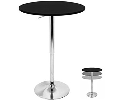 9. LumiSource LLC Adjustable Bar Table