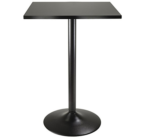 3. Winsome Obsidian High Table Square