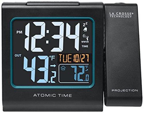 7. 616-146 Color Projection Alarm Clock