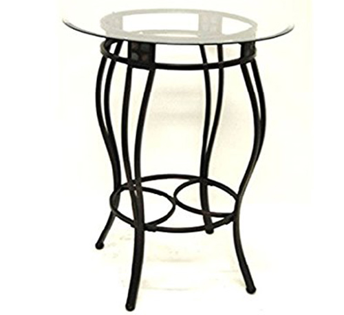 8. Boraam 70416 Beau Metal Pub Table