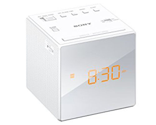 6. Sony Alarm Clock Radio