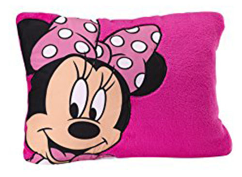 1. Disney Minnie Toddler Pillow
