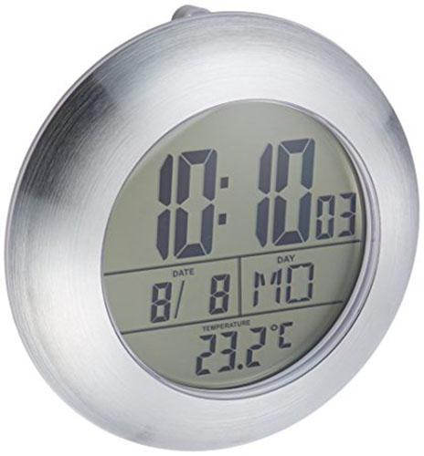 1. HITO LCD Bathroom Shower Clock