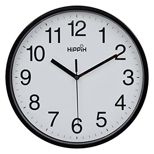 3. Silent Quartz Decorative Wall Clock
