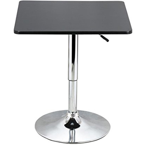 5. Yaheetech Adjustable Bar Pub Table