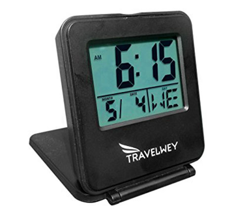 6. Digital Travel Alarm Clock